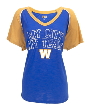 New Era Women's My City My Team V-neck
