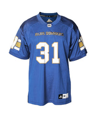 Authentic Blue Bombers Home Jersey - #31 Moe Leggett
