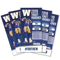 P3 10-Pack Ticket Voucher - 2019 Season