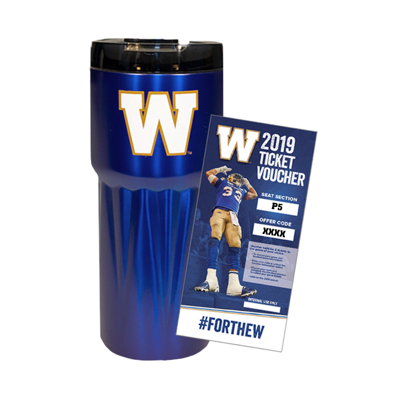 P5 2-Pack Ticket Voucher with Travel Mug - 2019 Season