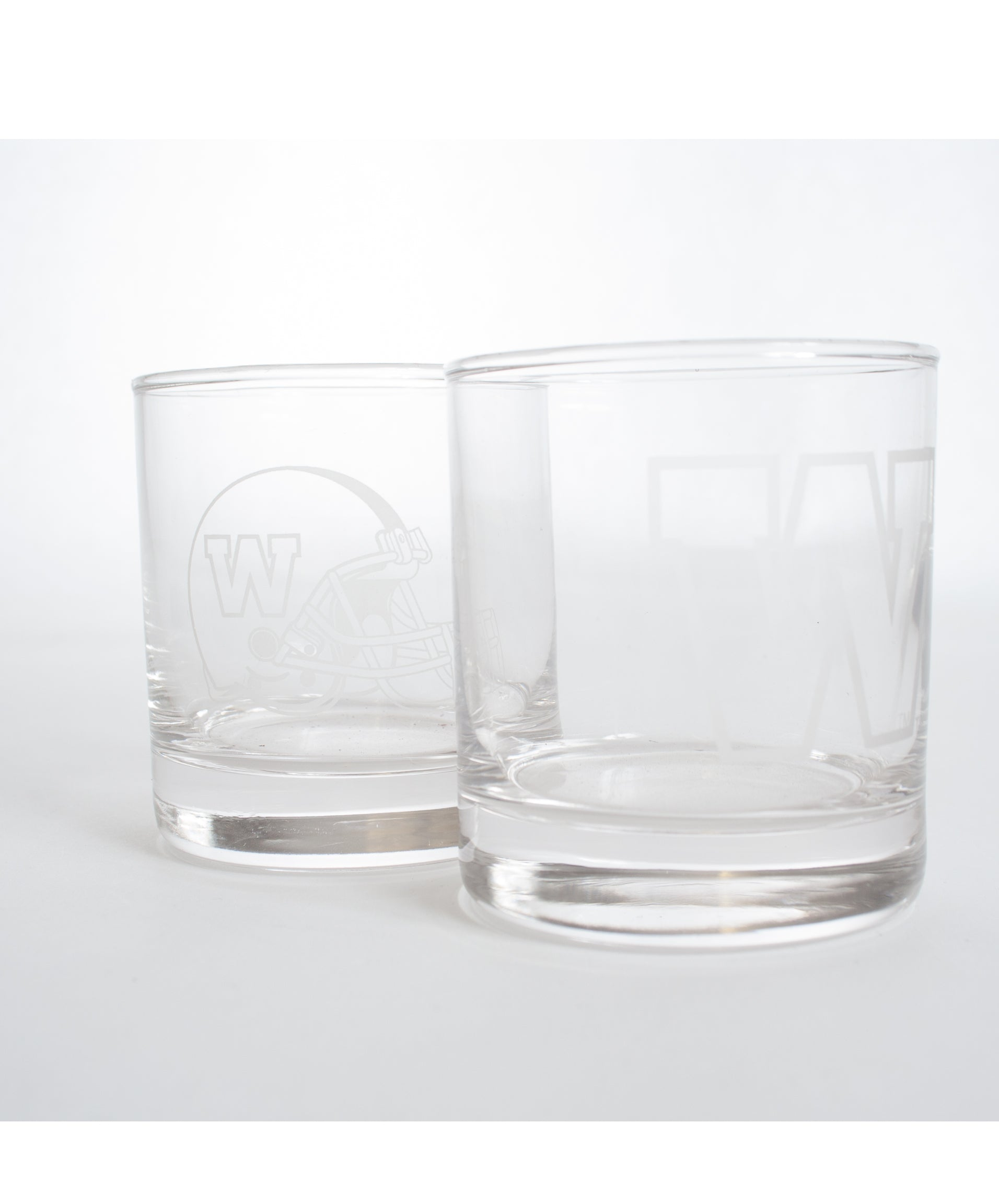 2 Piece Rocks Glass Set