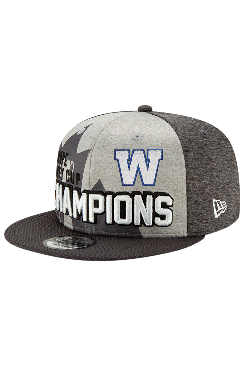 107th Grey Cup Blue Bombers Champions Cap