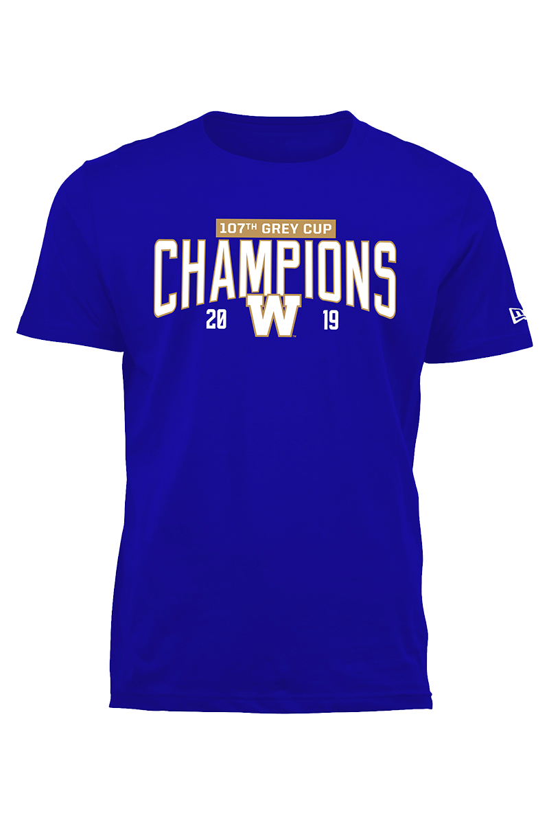 107th Grey Cup Champions New Era T-Shirt