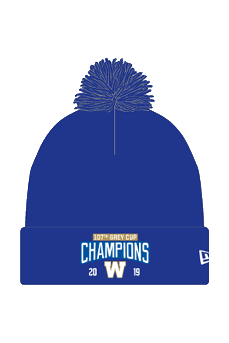 107th Grey Cup Champions New Era Pom Toque