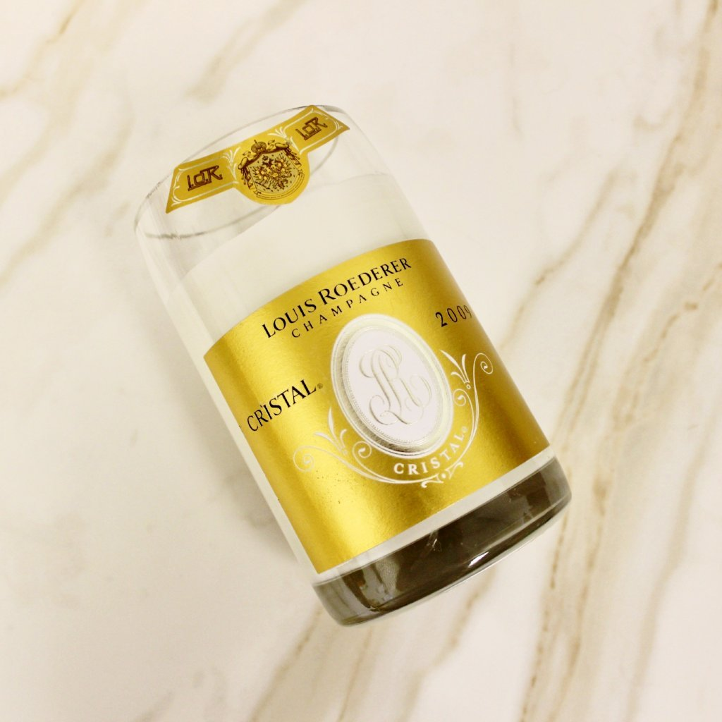 CRISTAL CHAMPAGNE CANDLE