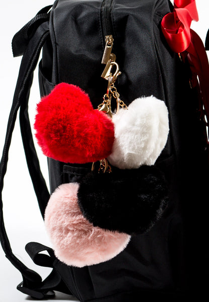 Fur Heart Good Luck Charm/Keychain