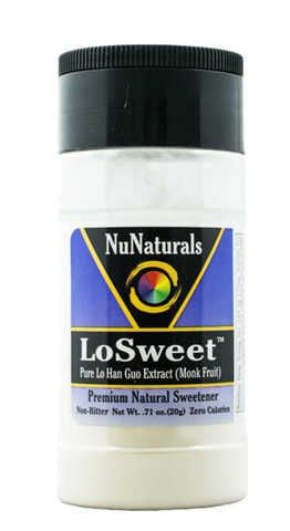 NuNaturals Lo-Sweet Lo Han Guo Extract 純羅漢果精華粉0.71 oz (20g) 0.71安士(20克)