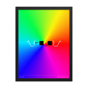 Party Hard 18in x 24in Framed Print