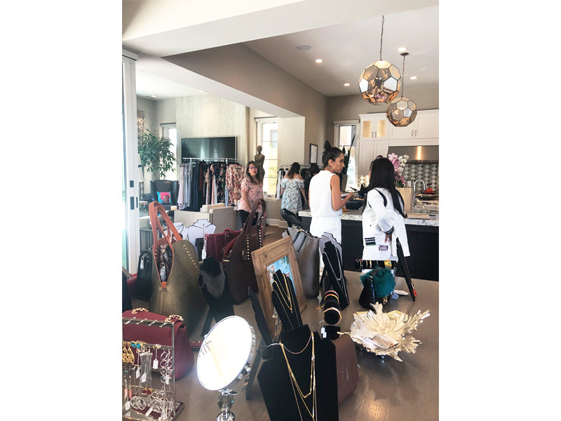 Sip and Shop Wine and Fashion Event