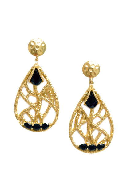Christina Greene - Madison Chandelier Earrings - NARIE Clothing