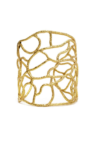 Cuffs, Christina Greene - Newbury Wire Cuff, CHRISTINA GREENE, $190.00, NARIE Clothing, accessories, Christina Greene jewelry, Christine Greene, cuff, cuffs, gold, Narie clothing, Newbury Wire Cuff, $190.00, ,