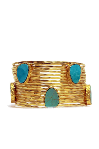 Christina Greene - Wire Stackable Cuff - NARIE Clothing
