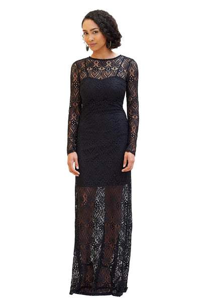 Embroidered Lace Dress - NARIE Clothing
