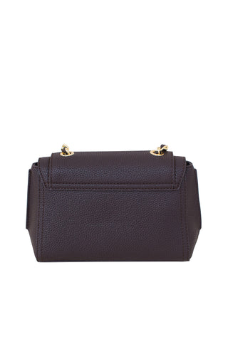 Crossbody Handbags, Carry Over Levanto Cross-body, Trussardi, $125.00, NARIE Clothing, bag, bags, brown, Carry Over Levanto, chain strap crossbody, crossbody, crossbody bags, handbag, handbags, Narie clothing, tote bags, Trussardi, vegan, vegan leather, $125.00, ,