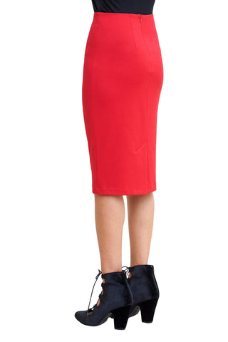 Skirts, Cresta High Waist Skirt, Klarety, $69.00, NARIE Clothing, bottom, Klarity, red skirt, skirt, skirts, $69.00, $115.00,