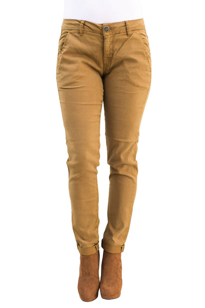 Caden Carrot Chino In Cumin - NARIE Clothing