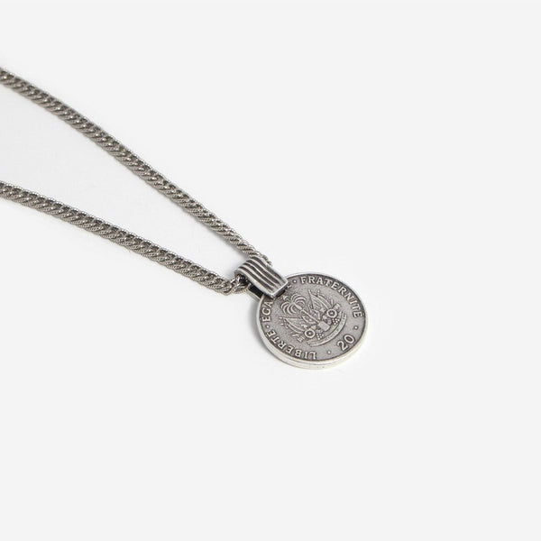 Haitian Coin Necklace