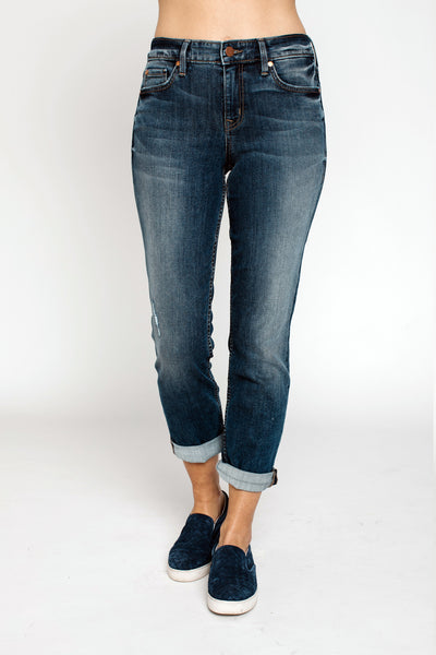 denim, Lily Mid Rise Crop Rollup Jean, Level 99, $75.00, NARIE Clothing, Blue, boyfriend jeans, crop jeans, Denim, jean, Level 99, Rollup jeans, $75.00, ,
