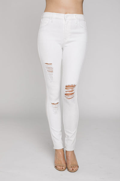 Janie High Rise Skinny Jeans - NARIE Clothing