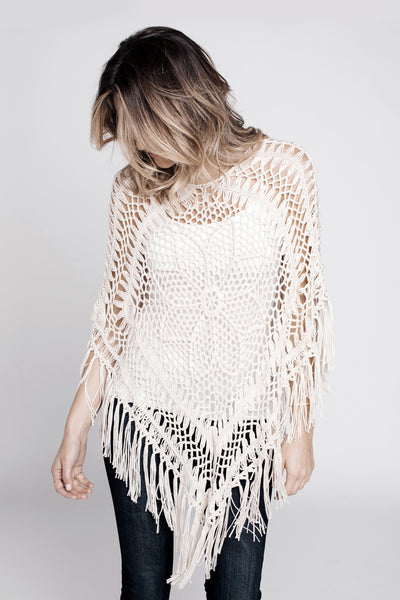 Willow Poncho - NARIE Clothing