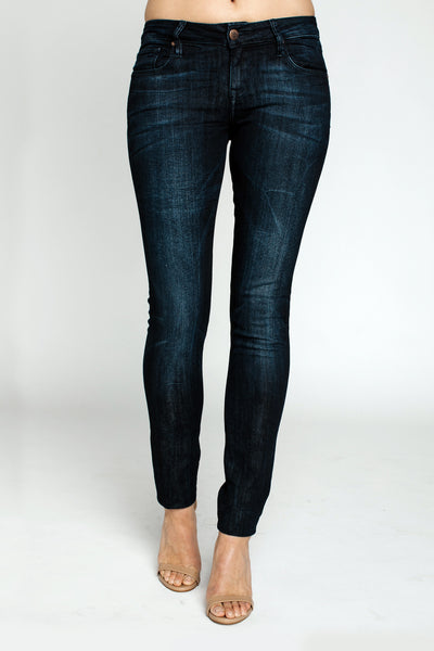 Jeans, Remy 5-Pocket Skinny Jeans, RAVEN DENIM, $100.00, NARIE Clothing, 5-pocket jeans, blue, dark, dark denim, denim, jeans, Narie clothing, raven, Raven Denim, skinny, Skinny jean, tight, wash, $100.00, ,