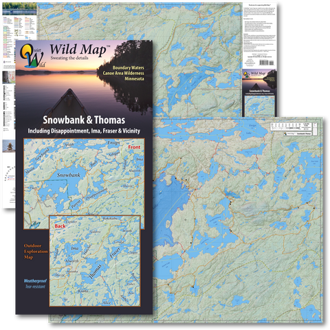 Wild Map Guide Series Quiet Wild LLC - Us paper map thomas guide