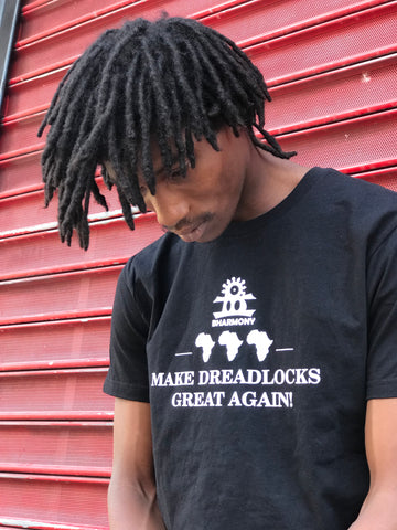 Make Dreadlocks Great Again! Black and White