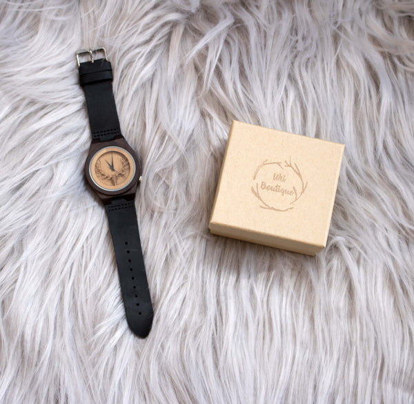 Maire Watch - Uki Boutique - fashion, nature, environment, photography, charity, wooden, accessories, polarised sunnies, sunglasses, galaxy, forest, flowers, clothes