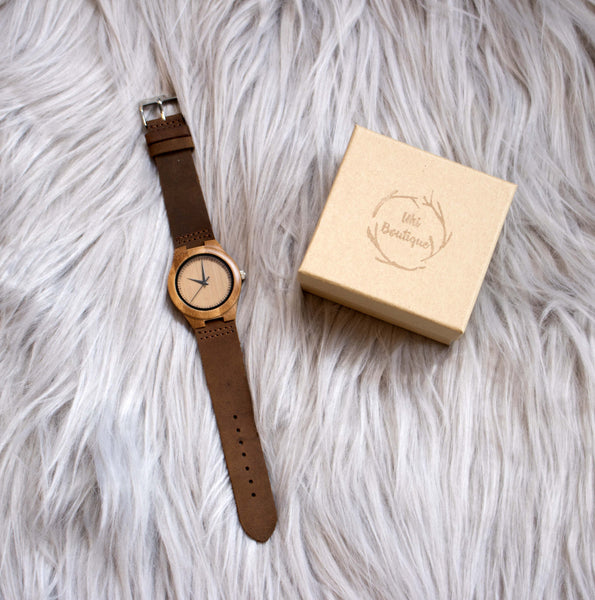 Ātanga Watch - Uki Boutique - fashion, nature, environment, photography, charity, wooden, accessories, polarised sunnies, sunglasses, galaxy, forest, flowers, clothes
