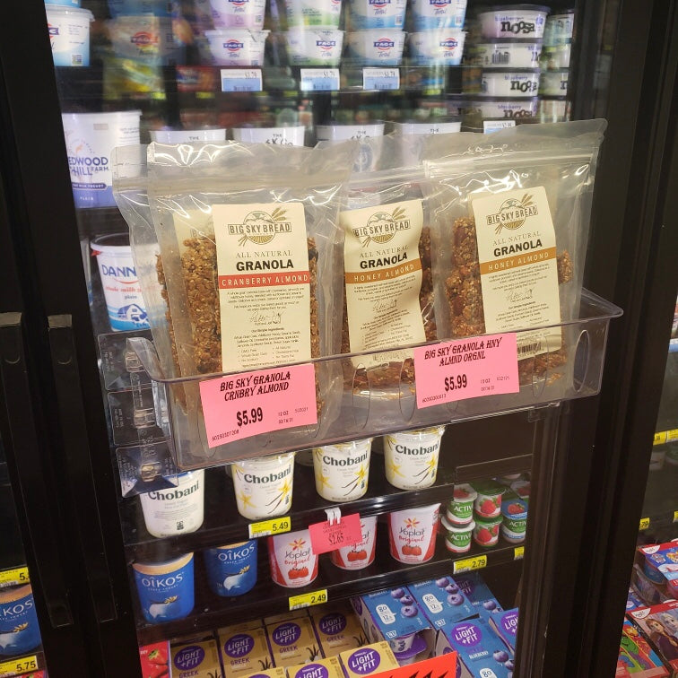 Big Sky Bread's granola and cookies are now available at local Birmingham Piggly Wiggly's!