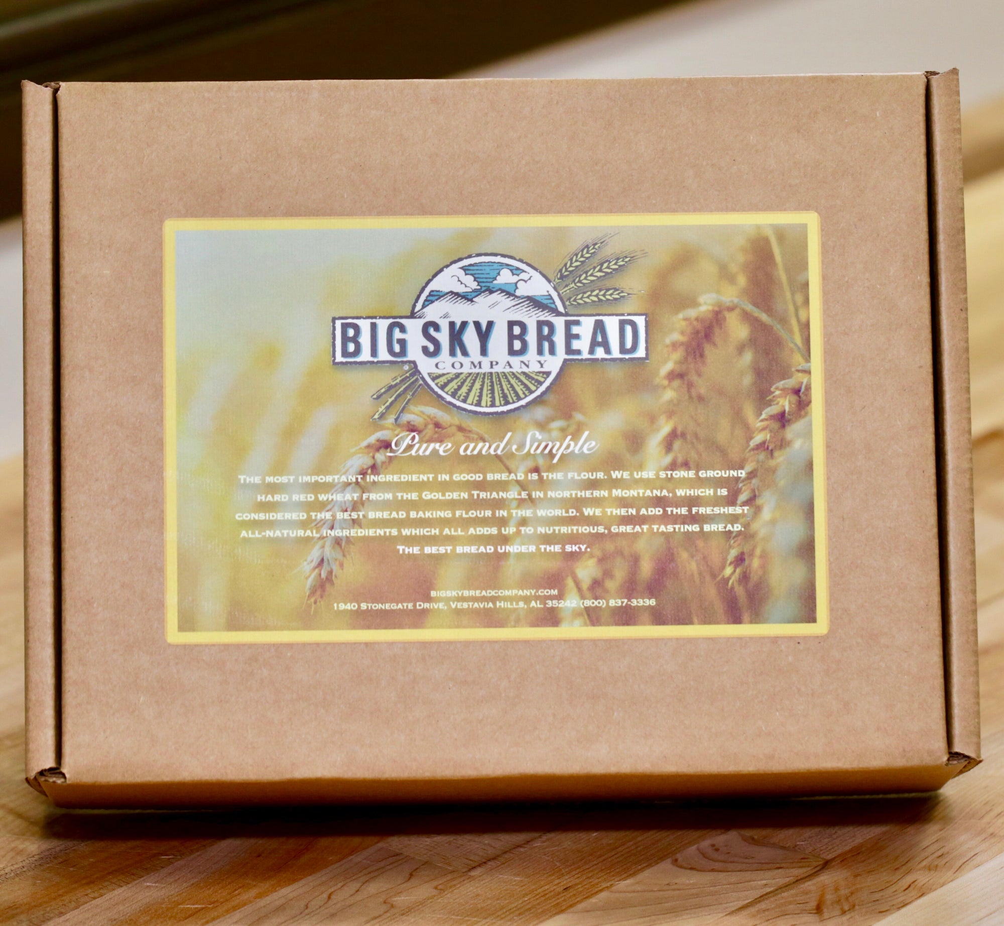 Big Sky Bread Company gift boxes are a fresh new gift idea.