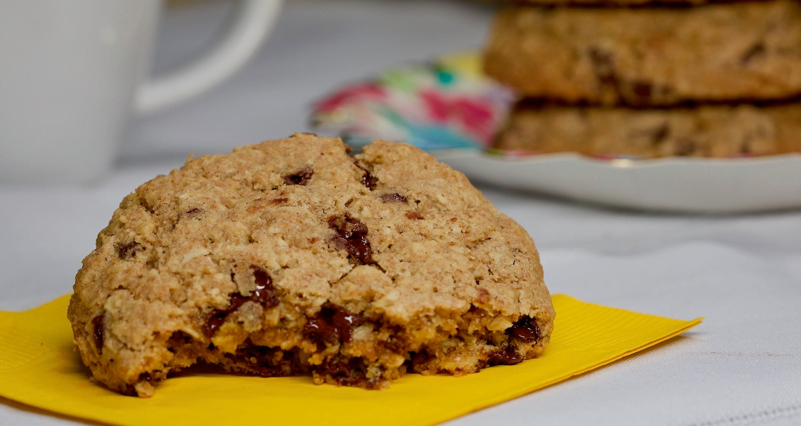 Soon to be world famous! Big Sky Bread Company whole wheat cookies are made with the best ingredients available, whole grain oats, Montana wheat flour, pure cream butter, and grandma's molasses.