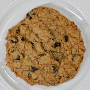 Soon to be world famous! Our whole wheat cookies are made with the best ingredients available, whole grain oats, Montana wheat flour, pure cream butter, molasses, and loaded with SunMaid California Raisins. Big Sky Bread Company Whole Wheat Cookies