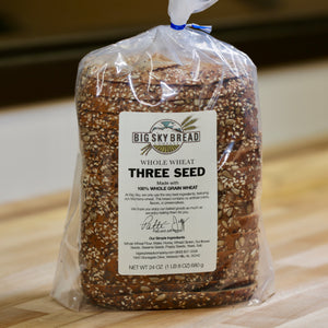 Big Sky Bread Company Whole Wheat Three Seed Bread