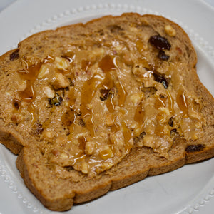 Big Sky Cinnamon Raisin Bread is great for breakfast, especially with peanut butter and honey! At Big Sky Bread Company we're excited to offer you the very best, whole grain baked goods delivered right to your home.  We use only the freshest, all-natural ingredients. Our premium wheat is from the Golden Triangle in northern Montana which is considered the best bread baking flour in the world.