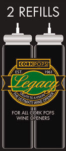 Legacy Wine Bottle Opener Refill Cartridges