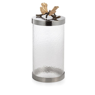 Butterfly Ginkgo Canister, Large