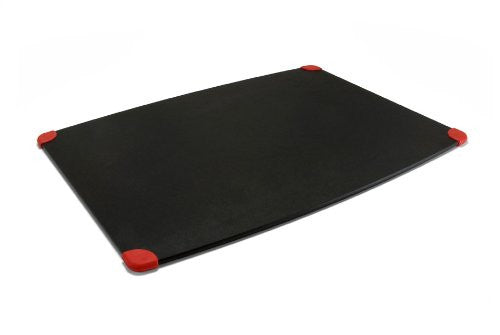 Gripper Cutting Board, Slate/Red