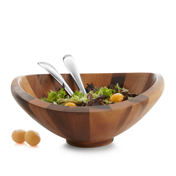 Butterfly Salad Bowl with Servers