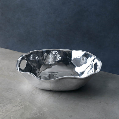 Rebecca Oval Bowl with Handles