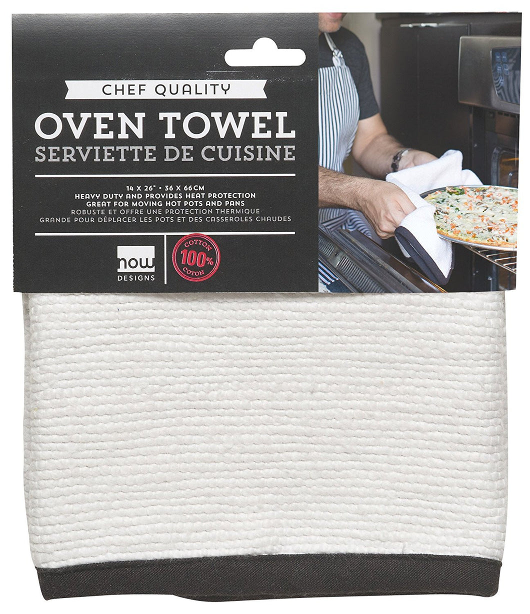 Oven Towel, White