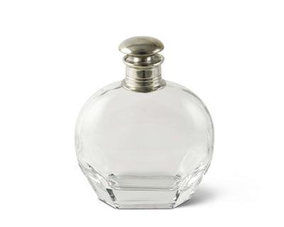 Classic Pewter Decanter-Wide