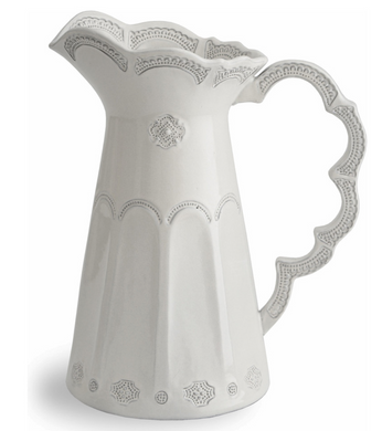 Merletto Antique Scalloped Pitcher