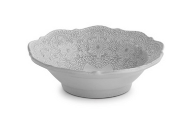 Merletto White Cereal Bowl