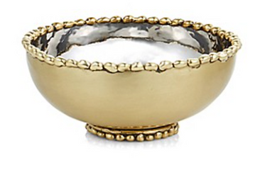 Molton Gold Nut Bowl