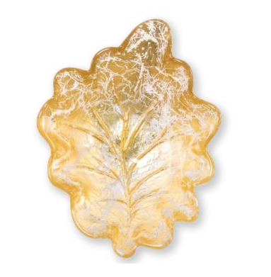 Moon Glass Leaf Small Bowl