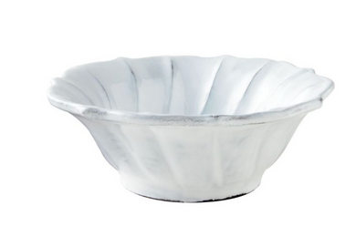 Incanto Ruffle Cereal Bowl - White