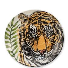Tiger Shallow Bowl