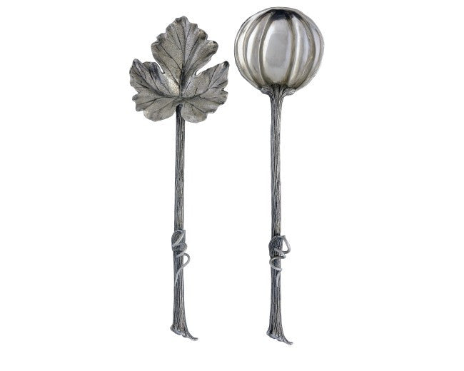 Autumn Vine Salad Servers