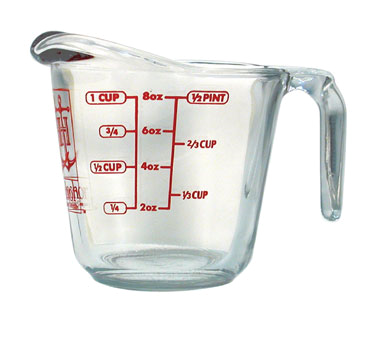 Glass Measuring Cup, 1 Cup